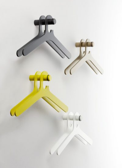 Pole coat hanger