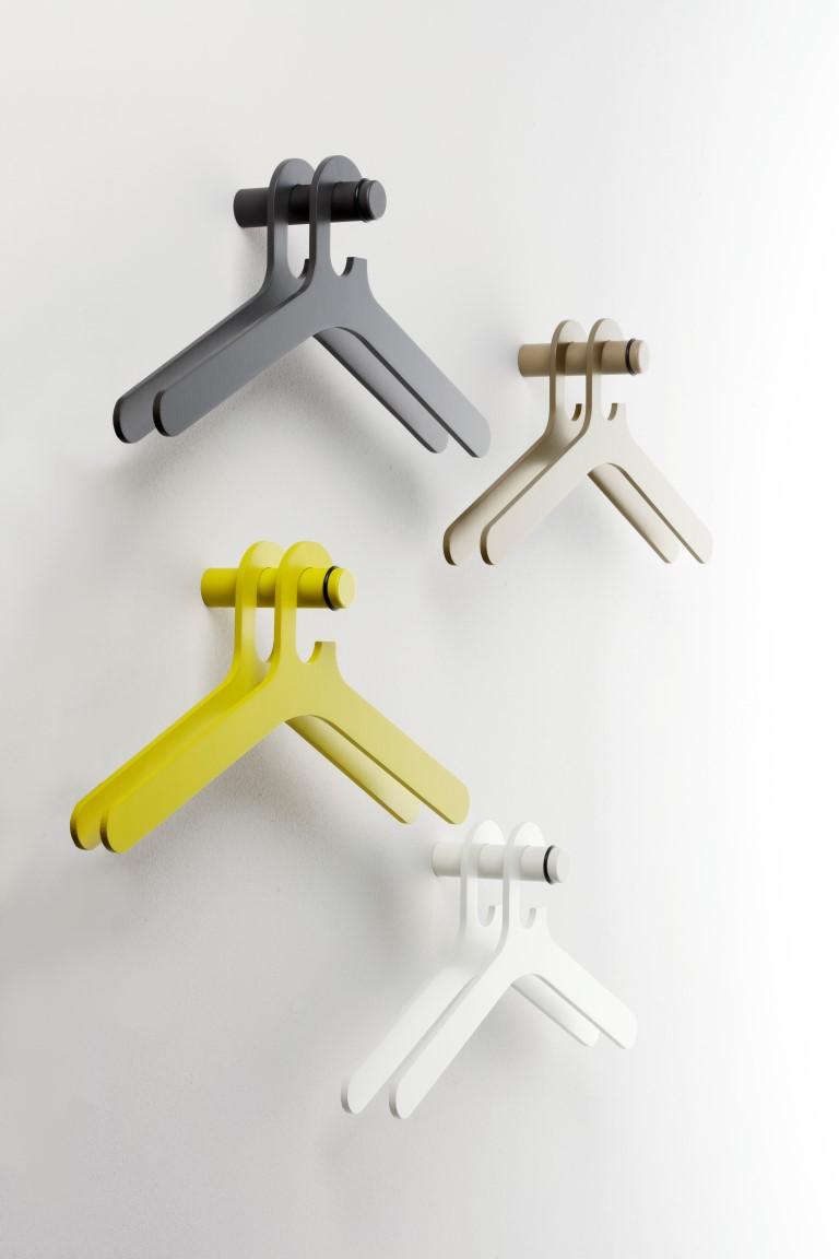 Pole coat hanger