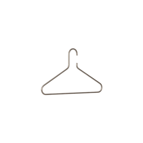 Lean on coat hanger